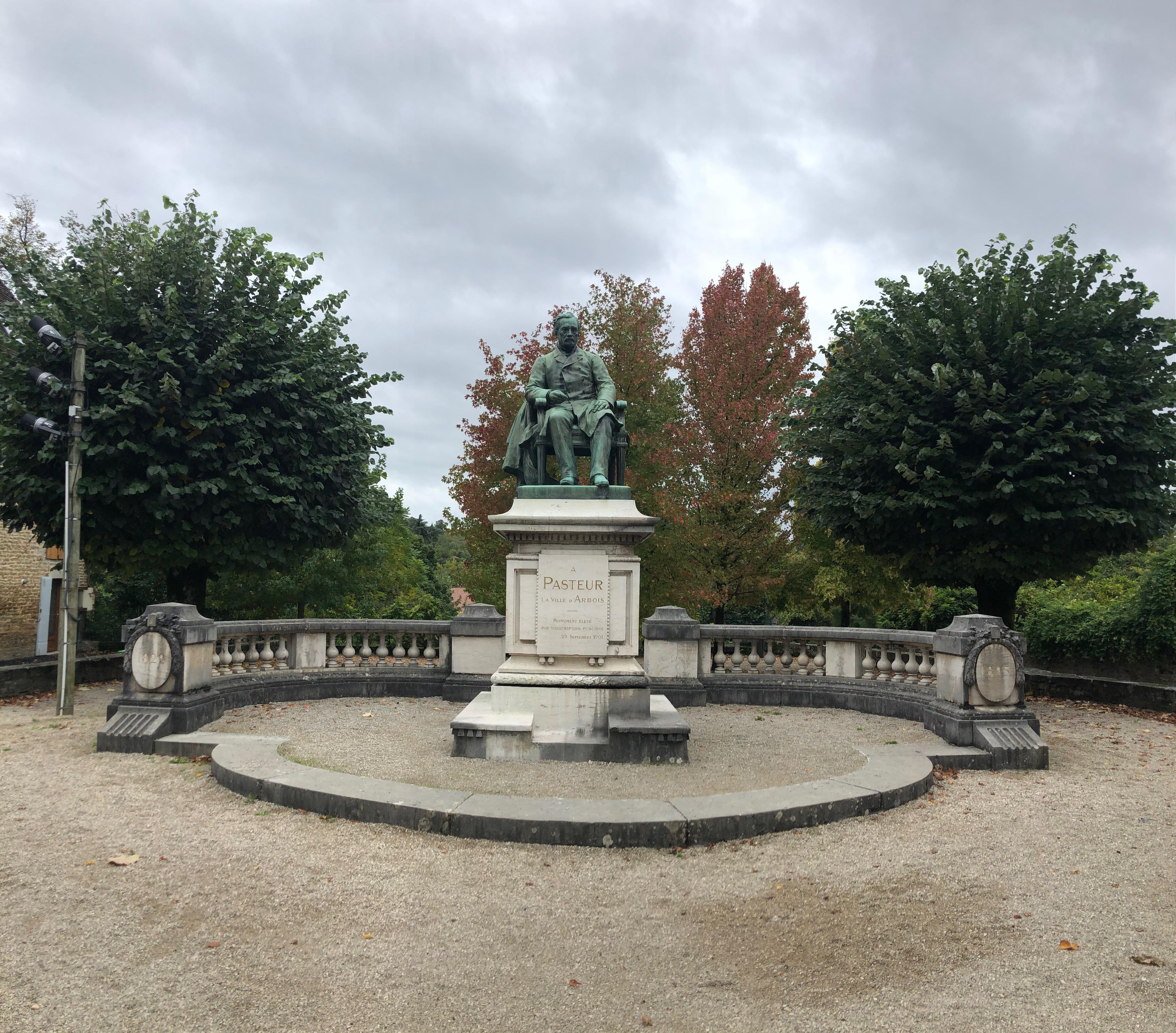 Spomenik Louis Pasteur-u v Arboisu