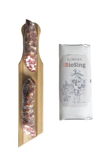 Klobasa BioSing cca 120 g