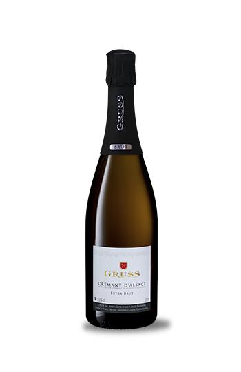 Cremant D'Alsace Extra Brut N.V., Domaine Gruss