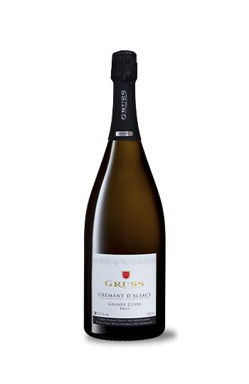 Cremant D'Alsace Grande Cuvée Brut N.V., Domaine Gruss, MAGNUM 1.5 L