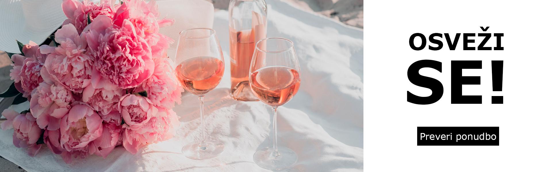 Osveži se: rose vino v akciji